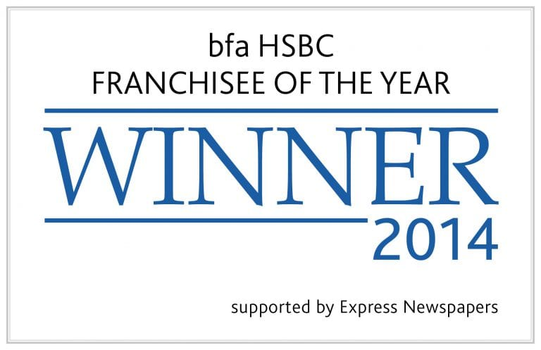 Franchisee of year winner bfa barking mad business