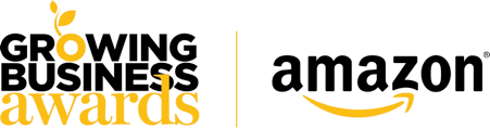 Amazon Growing Business Awards Logo