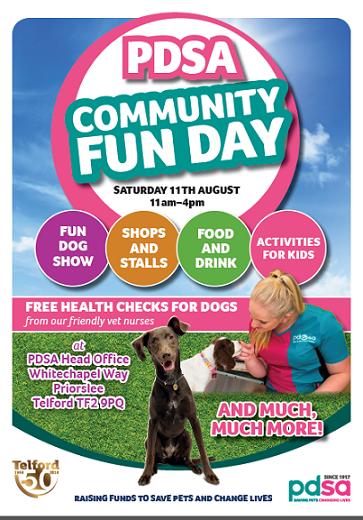 PDSA Fun Day 11th August