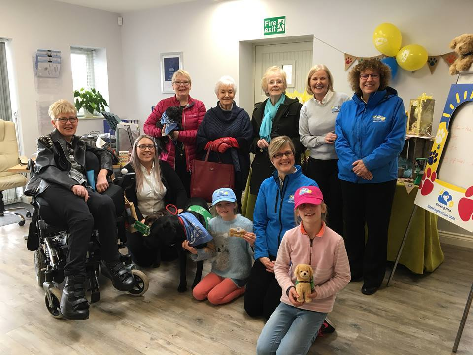 Barking Mad Lancaster dog sitters' chosen charity for 2018 is Dogs for Good