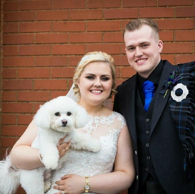bespoke dog wedding chaperone service renfrewshire