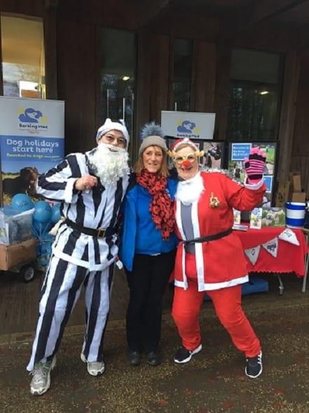 Barking Mad Santa run Home from Home dog care Cleveland, Teeside & Darlington