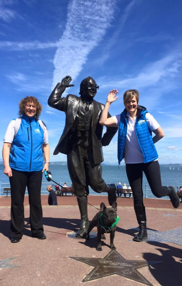 Morecambe dog sitters take part in a charity walk for Dogs for Good