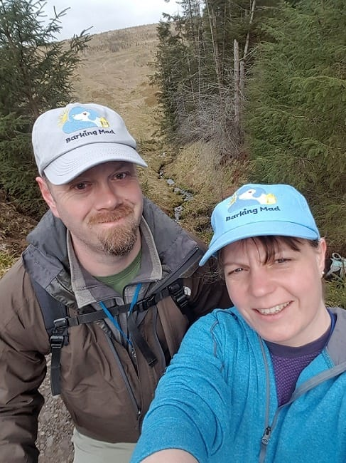 Halfway through and halfway up Glen Sherup
