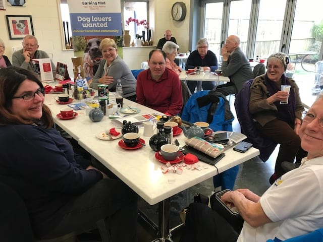 Cuppa's, Cakes and Canine Chat at our Barking Mad fund raising Coffee morning