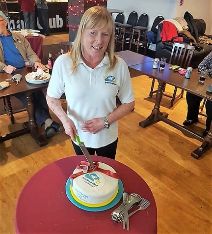 Barking Mad Chichester celebrates with cake