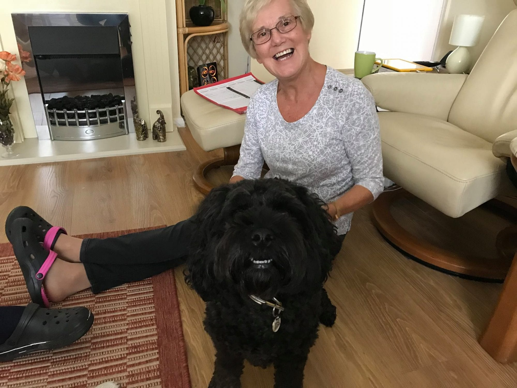 Barking Mad dog sitting hosts love caring for dogs