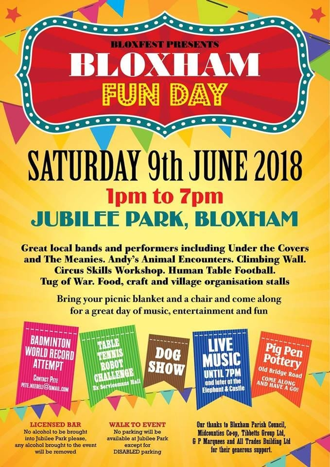 Barking Mad Banbury - Bloxham Fun Day