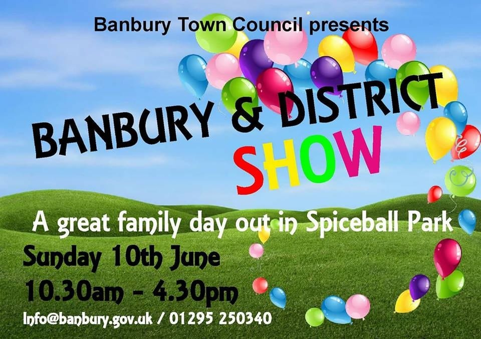 We're going to be here on Sunday the 10th. Come say hello and learn more about our dog sitting service in Banbury!
