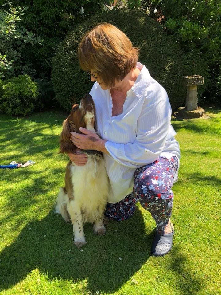 Brodie from Aisby with Jo near Southwell