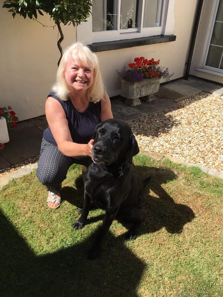Monty from Castle Bytham with Sue of Long Bennington