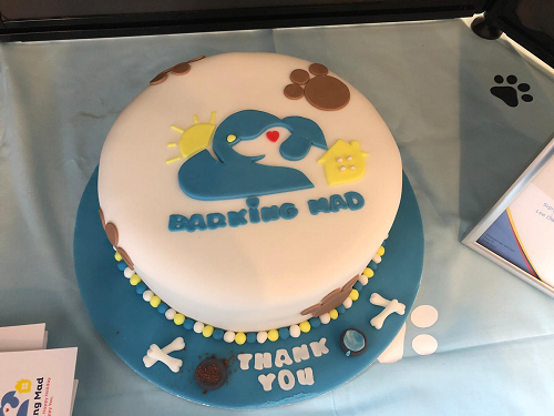 A Delicious Cake, Perfect For Any Barking Mad Occasion!