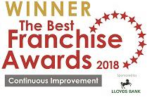 best franchise awards winner barking mad 2018
