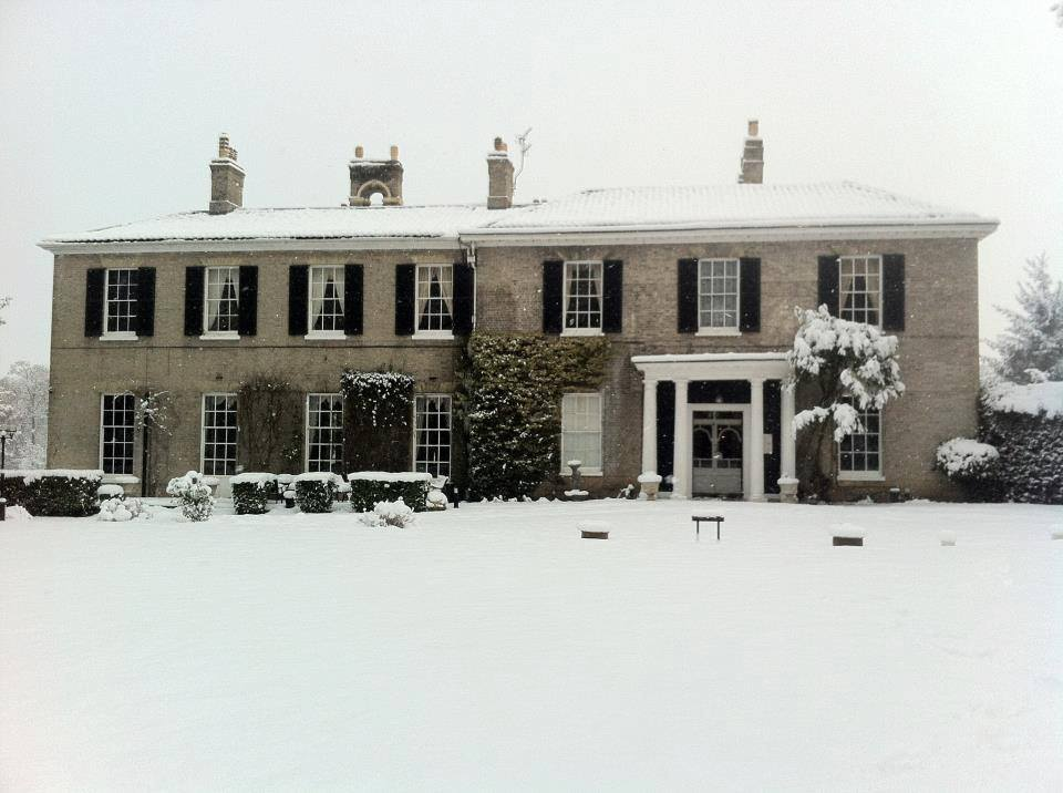 Winter at Caistor Hall