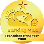 Franchisee of the year 2008 Barking Mad