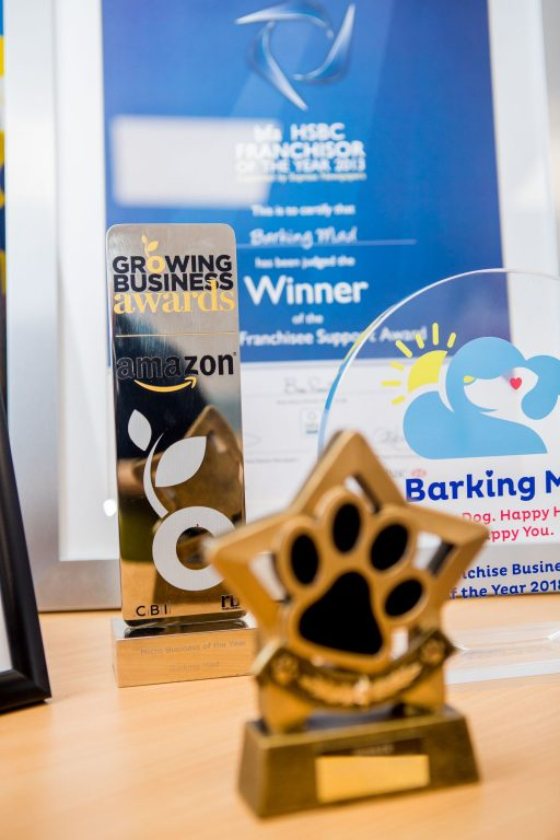 Barking Mad Dog Sitting Franchise Awards