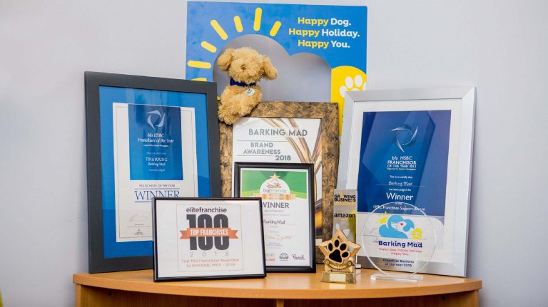 Barking Mad Dog Sitting Awards Winner Franchise Business Opportunnity Cropped