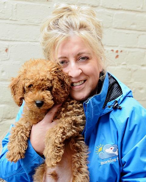 Colette Crowley Barking Mad Dog Sitter Home Boarding Warwickshire