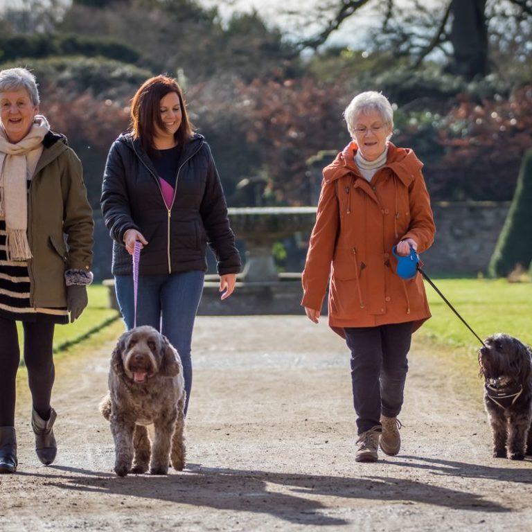 Donna Cotton Barking Mad Host Walk Nottingham