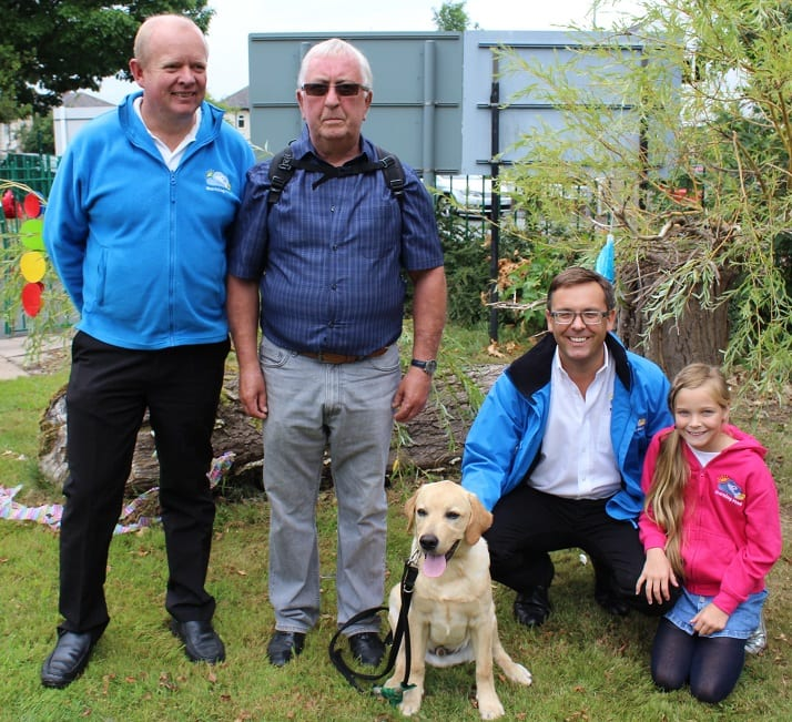 Barking Mad dog sitters celebrate a puppy partnership with Dogs for Good