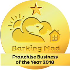 Barking Mad Dog Sitting Business Franchisee Of The Year 2018 John And Elaine Warburton