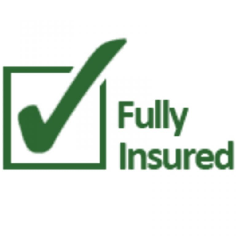 Fully Insured Dog Sitting Logo