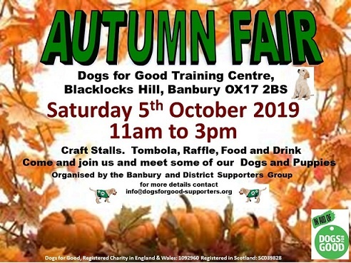 1 Dogs For Good Autumn Fair Banbury