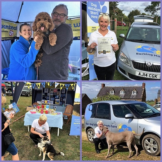 2 Meeting Lots Of New Pooches And Enjoying A Day Out With Our Dog Boarding Stall At Chipping Campden Moreton Shipston And Banbury