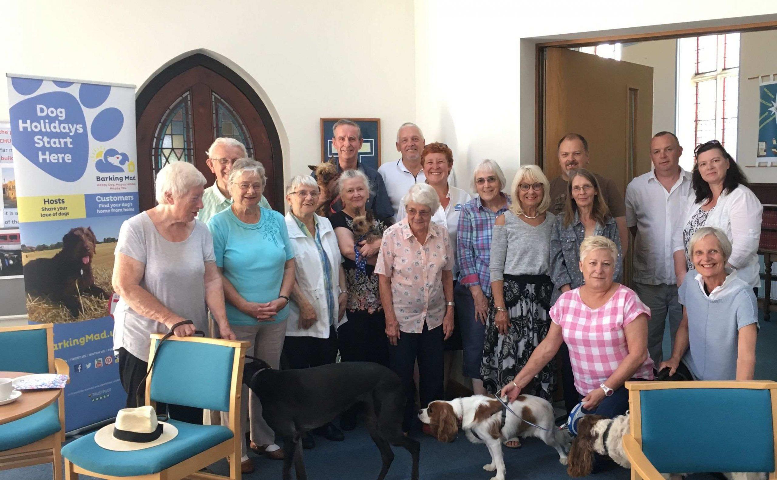 Barking Mad Host Community Dog Sitting Home Boarding Group Inside