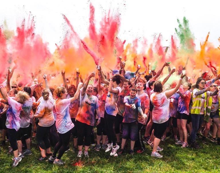 Norwich 5k Colour Run