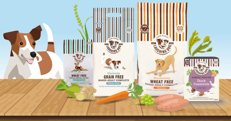 Laughing Dog Food range barking mad competition