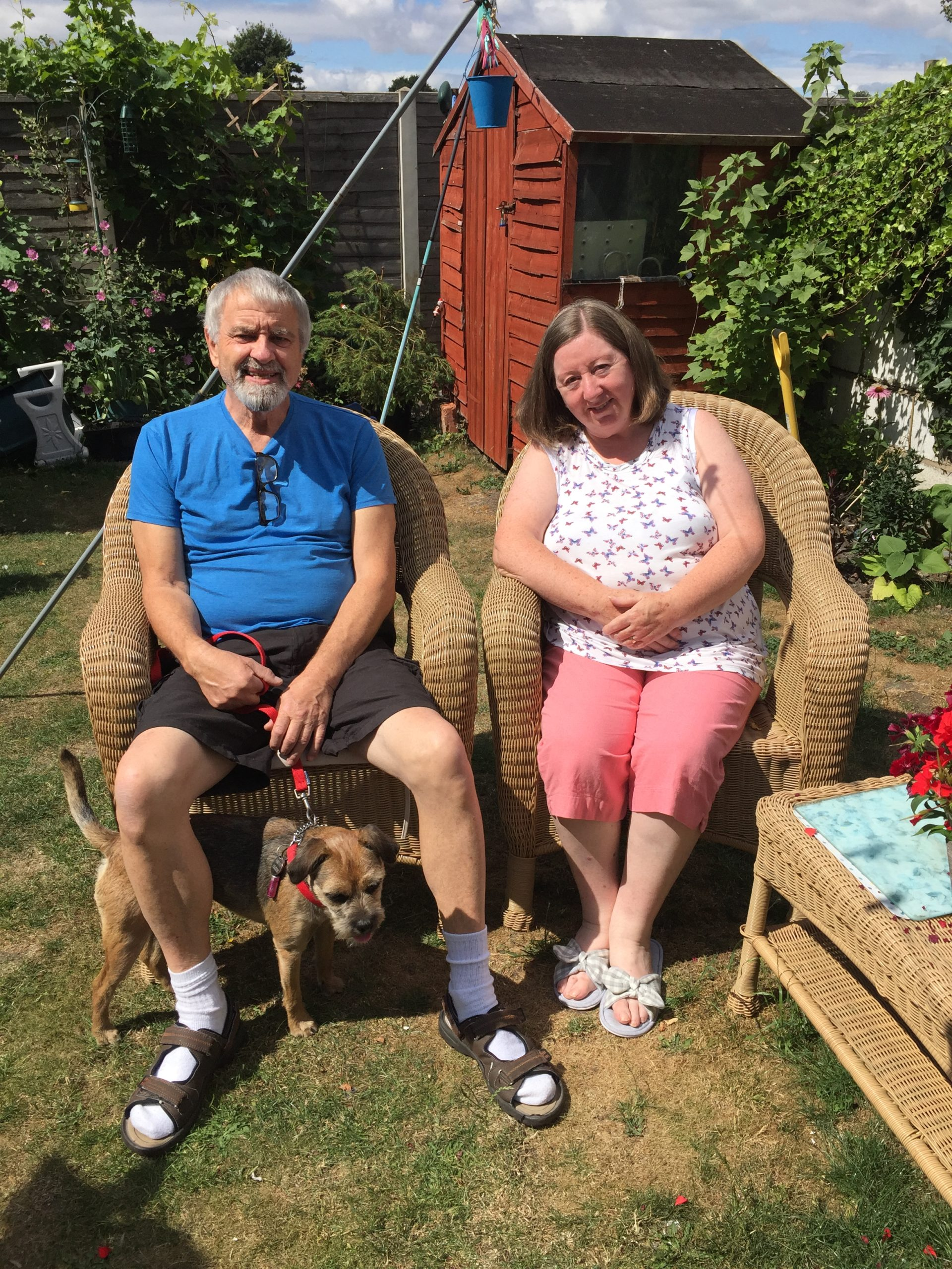 Volunteer Dog Carer Barking Mad Hosts John And Meg Abraham