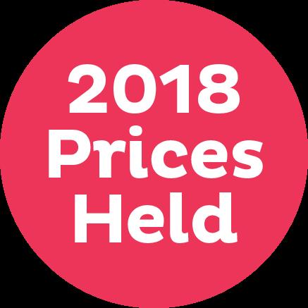 Prices Held 2018 Logo