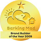 Brand builder of the year 2009 barking mad