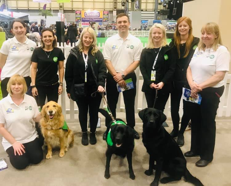 Barking Mad Support Dogs For Good At The Camping And Caravanning Show
