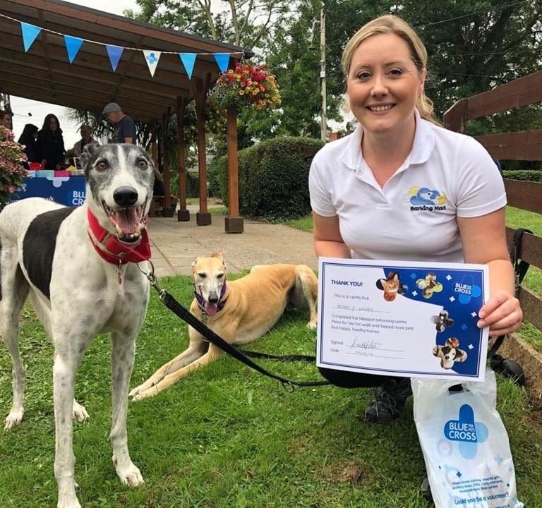 Blue Cross Newport Rehoming and Advice Unit Fun Walk and Tea Party